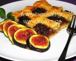 ΠΑΣΤΑ ΦΛΩΡΑ ΜΕ ΦΡΕΣΚΑ ΣΥΚΑ (fig pasta frolla)